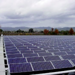 UK's first floating solar pannel strategy installed