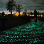 Could UK electric central heating be powered by solar roads?